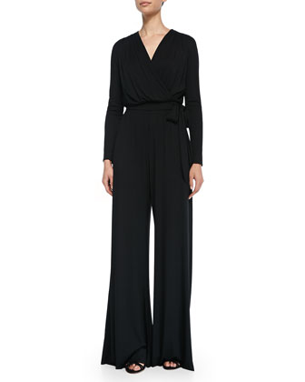 Melissa Masse Rachel Pally Wide-Leg Jumpsuit & Melissa Masse Maxi Dress