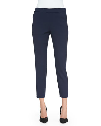 Crosby Textured Ankle Pants