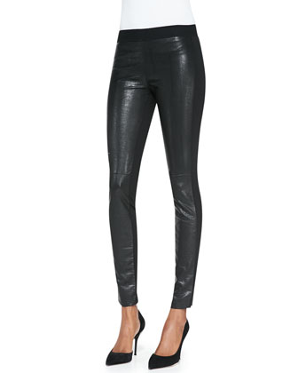 Faux Leather/Scuba Leggings