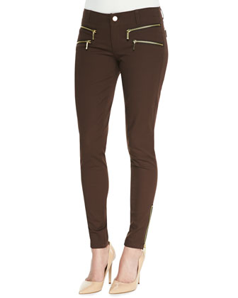 Rocker Zip-Pocket Skinny Pants