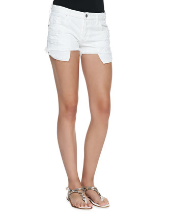Minx Cutoff Denim Shorts