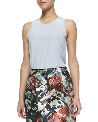 Riley Silk Sleeveless Top