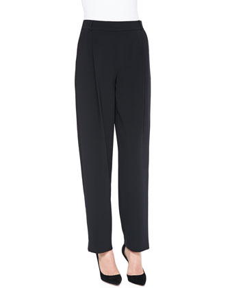James Inverted-Pleat Straight Pants