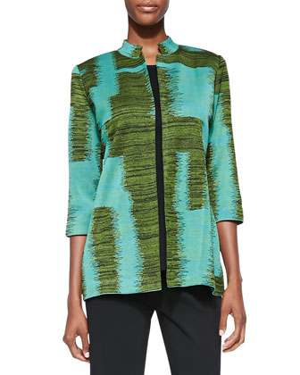 Long Matisse 3/4-Sleeve Jacket, Women's