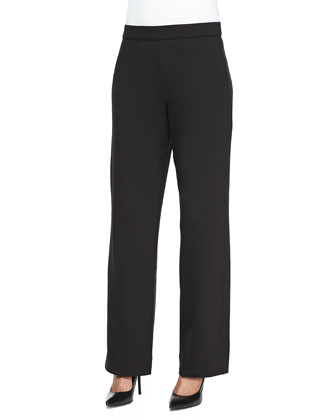 Full-Length Jog Pants, Black, Women's