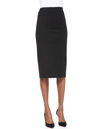 Tea-Length Pencil Skirt