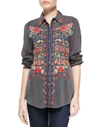 Talin Embroidered Tunic, Women's