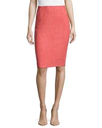 Modern Slim Skirt, Rosewater