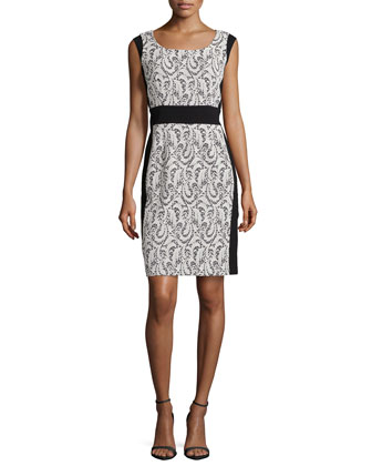 Ansel Lace Panel Dress