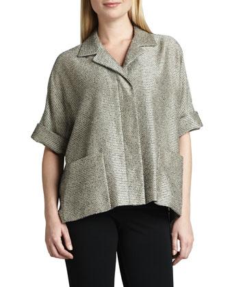 Cam Half-Sleeve Top