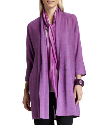 Alpaca Long Cardigan, Women's