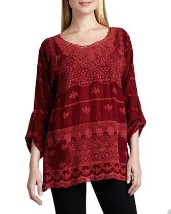 Hannah Lacy Tunic, Women's