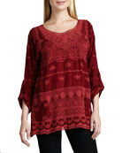 Hannah Lacy Georgette Tunic