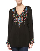 Ditsy Flower Long Tunic
