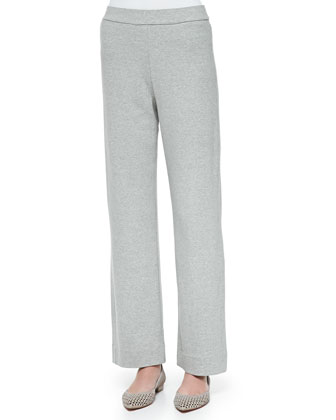 Full-Length Jog Pants, Gray Heather, Women's