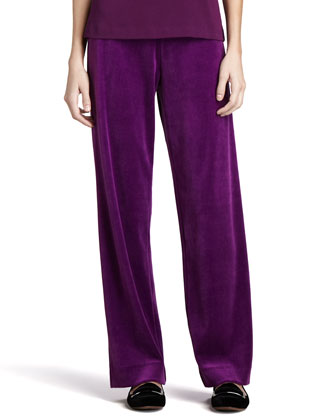 Velour Pants, Women's