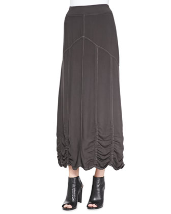 Alva Twill Maxi Skirt, Women's