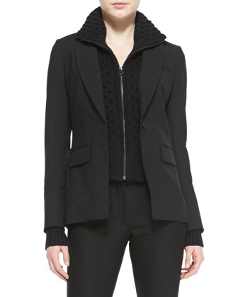Long & Lean Suiting Jacket