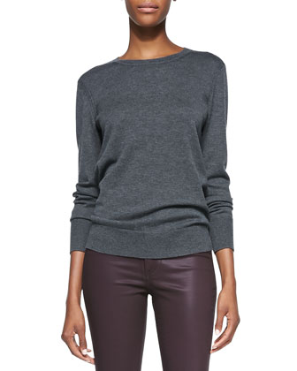 Natalie Wool-Blend Sweater & The Legging Jeans