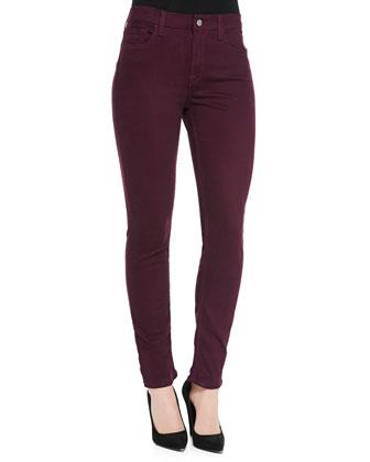 Sateen-Twill Skinny Jeans