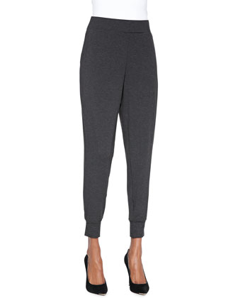 Cozy Slouchy Pants, Charcoal