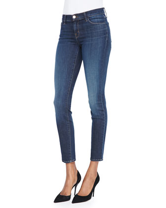 811 Mid-Rise Skinny Jeans, Storm