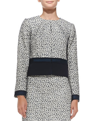 Lucille Silk-Blend Tweed Jacket & Skirt