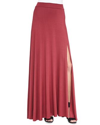 Mackenzie Jersey Maxi Skirt, Women's