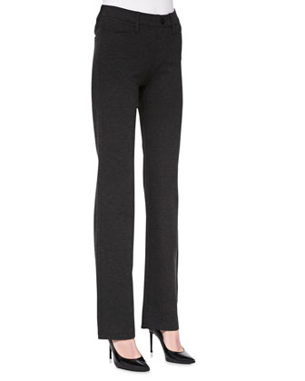 Baby Boot-Cut Pull-On Pants, Women's