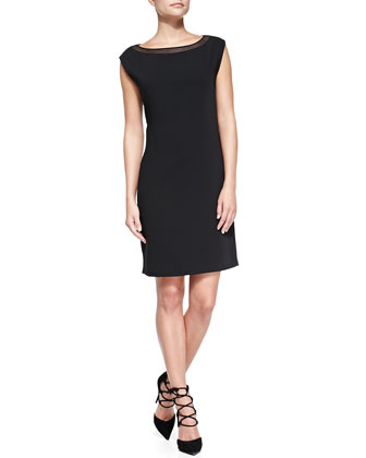 Landry Cap-Sleeve Dress