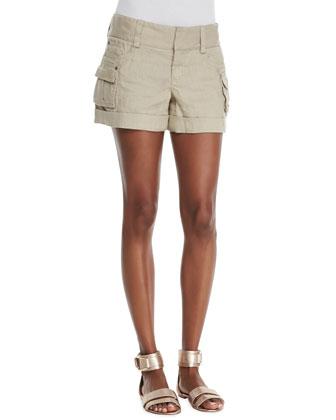 Cady Twill Cargo Shorts