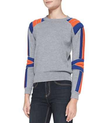 Grady Wool Crewneck Sweater