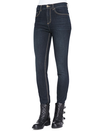 Ella Fancy Skinny Denim Jeans