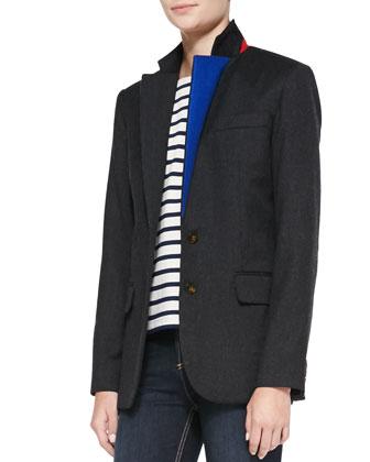 Junko Lightweight Wool Blazer