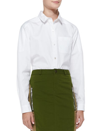 Miki Cotton Oxford Shirt