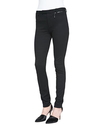 After Midnight Skinny Crepe Pants