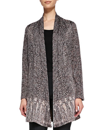 Knotted Tassel Cardigan, Women's