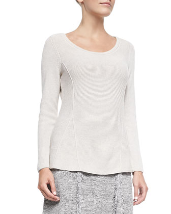 Tumbling Long-Sleeve Top, Petite
