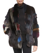Lolo Multicolor Fox Fur Jacket