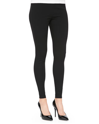 Stretch-Wool Leggings