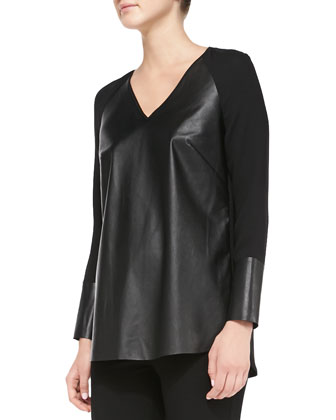 Shae Silk Neotech-Front Blouse