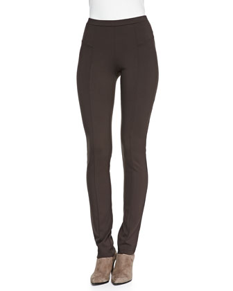 Perfect Ponte Slim Pants, River Rock