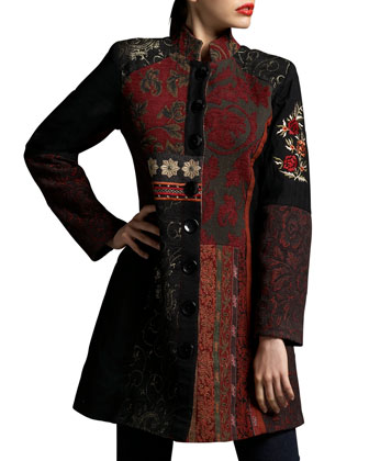 Patchwork Brocade Jacket