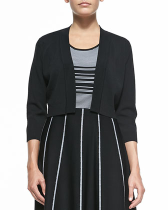 3/4-Sleeve Jersey Shrug