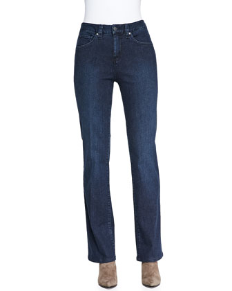 Jillian Gotham Modified Boot-Cut Jeans with Tummy Panel