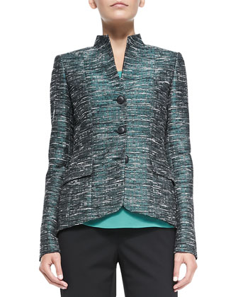 Andy Metallic Tweed Jacket