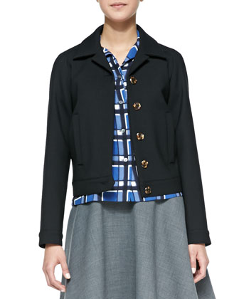 Sixties Wool-Blend Jacket