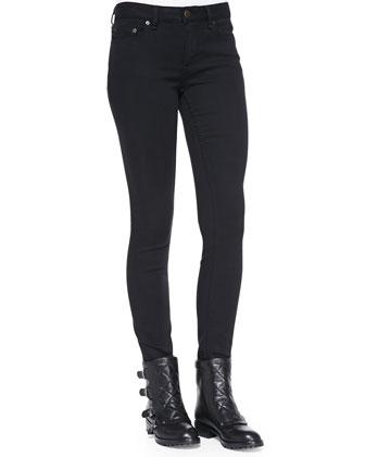Skylar Knit-Trim Sweater Jacket, Toto Plaid Crepe Sweater & Stick Skinny ...
