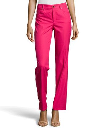 Tessa Straight-Leg Jeans, Blossom