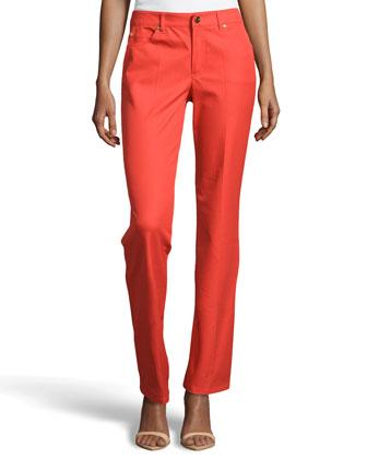 Tessa Straight-Leg Jeans, Koi